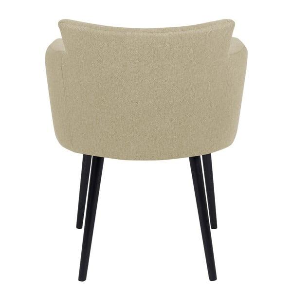 Béžová židle s područkami Windsor & Co Sofas Gemini