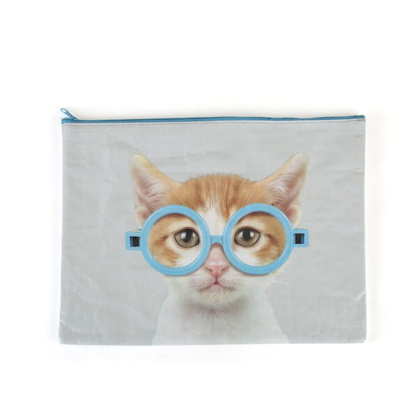 Kapsa Glasses Cat na A4 dokumenty