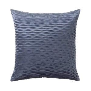 Modrý polštář Unimasa Waves, 45 x 45 cm