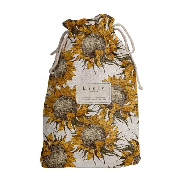 Sac călătorie Linen Couture Sunflower, lungime 44 cm