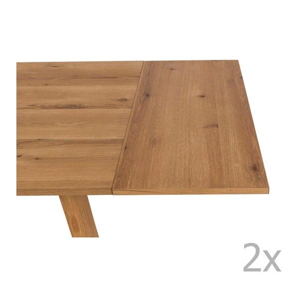 Chara 2 db étkezőasztal hosszabbító elem - Actona