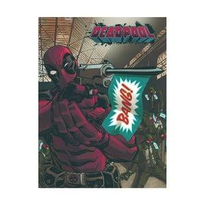 Obraz Pyramid International Deadpool Bang, 60 x 80 cm
