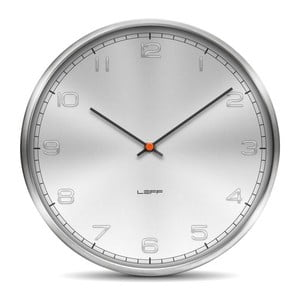 Nástěnné hodiny Embosed Aluminium, 25 cm