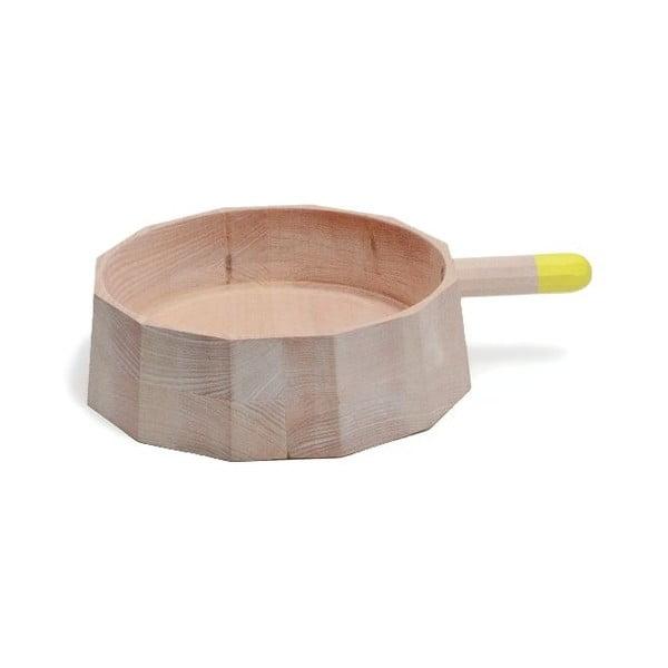Dřevěná nádoba Perrette Base