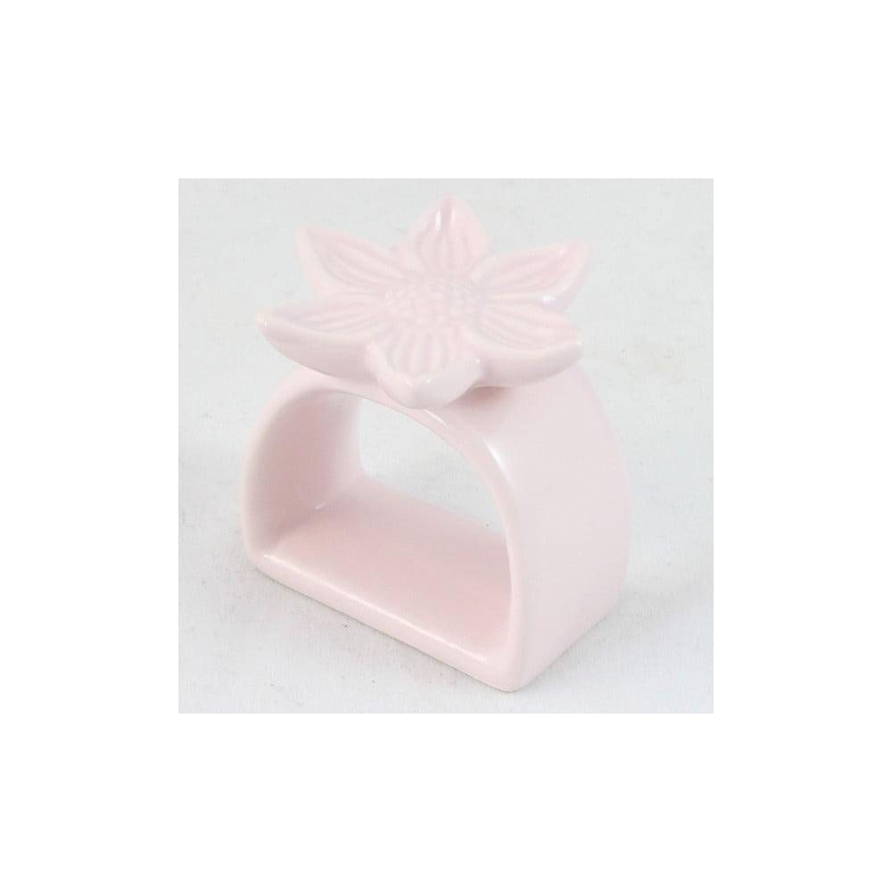 Světle růžový držák na ubrousky Dakls