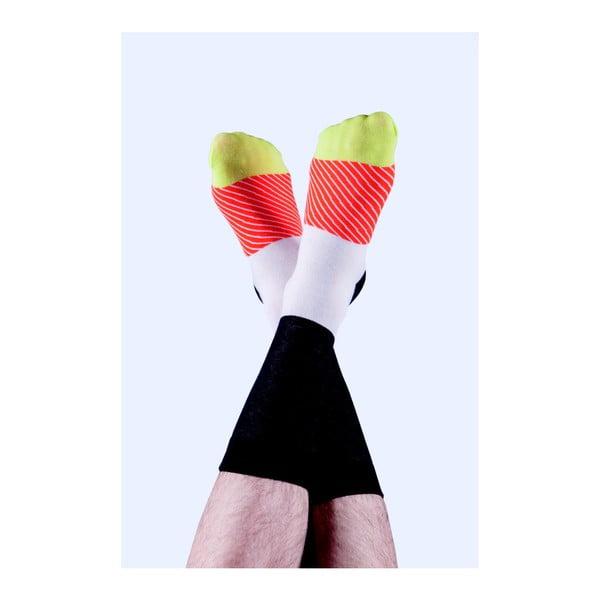 Skarpetki DOIY Maki Socks Salmon, rozm. 37-43