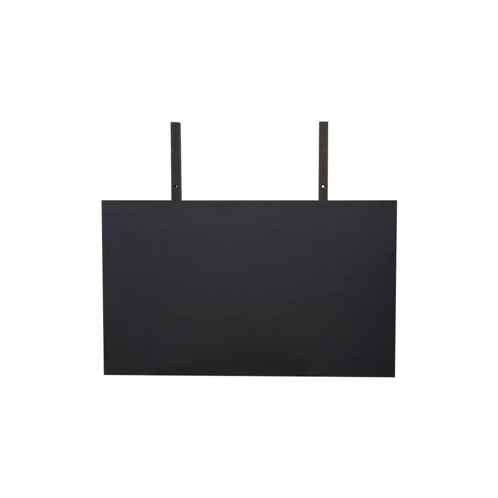 Černá deska k prodloužení jídelního stolu Canett Gigant