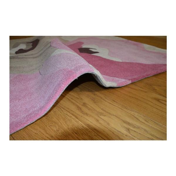Koberec Poppy Flowers Beige Pink, 160x220 cm
