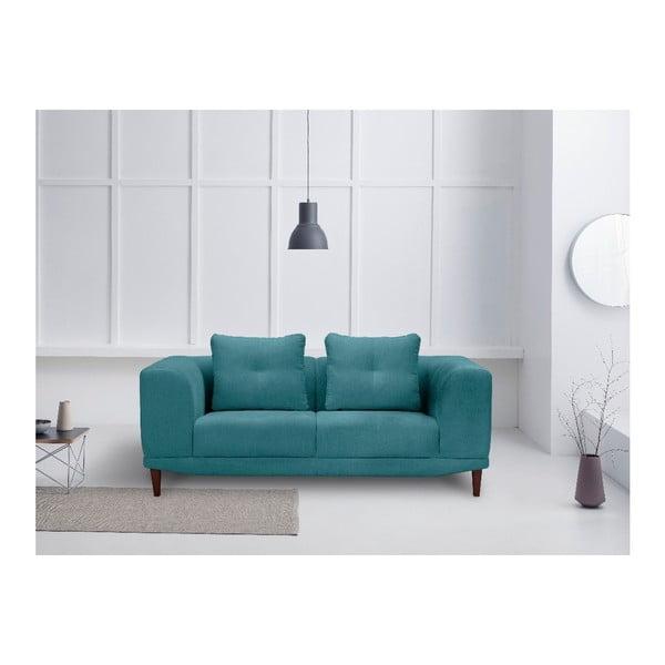 Tyrkysová dvojmístná pohovka Windsor & Co Sofas Sigma