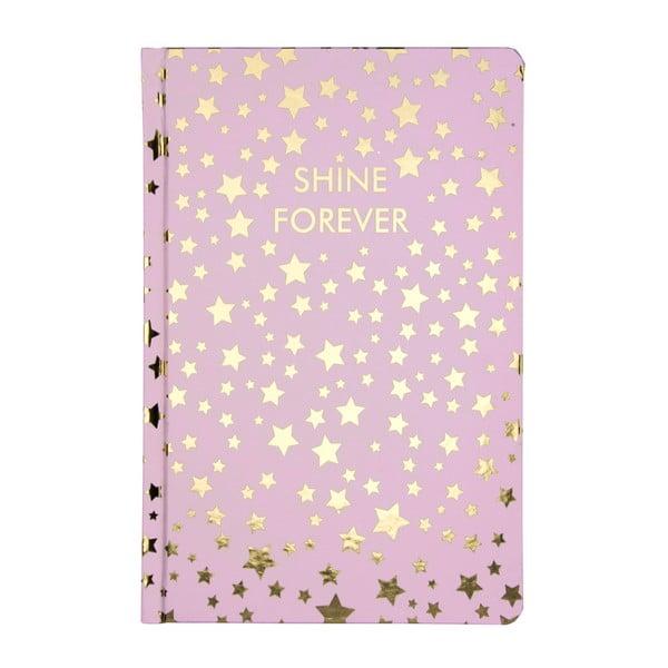 Shine Forever jegyzetfüzet - Tri-Coastal Design