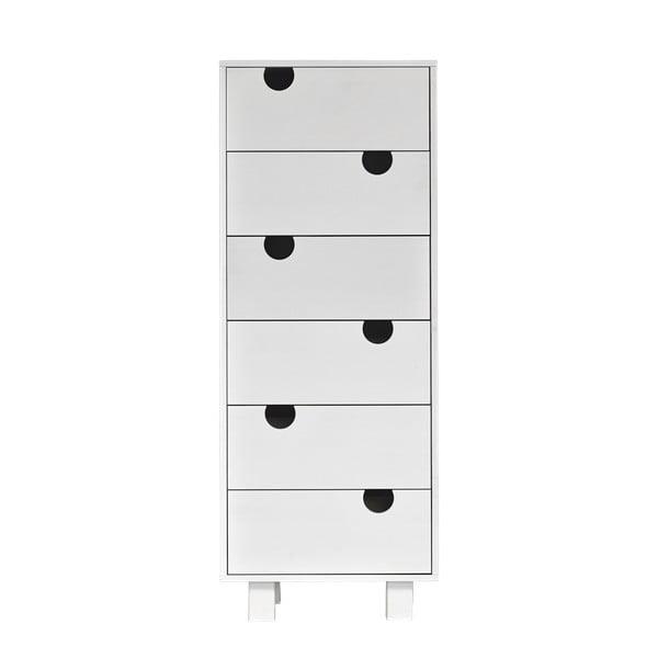 Komoda z 6 szufladami Karup DesignHouse White