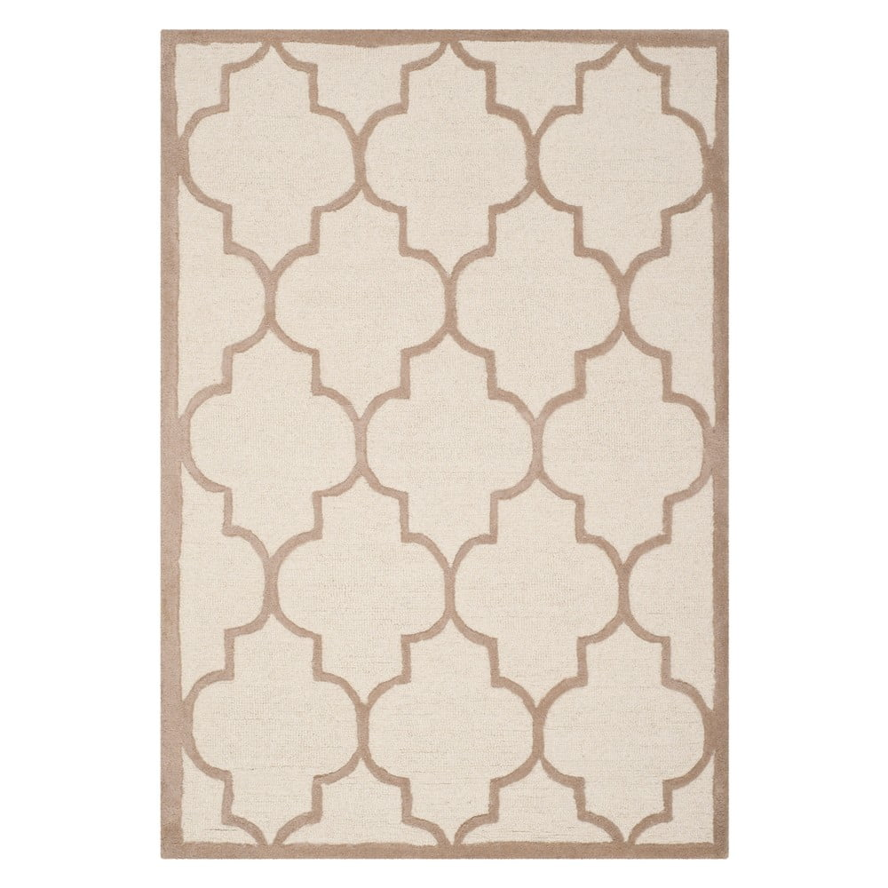 Vlněný koberec Safavieh Everly Dessert, 121x182 cm