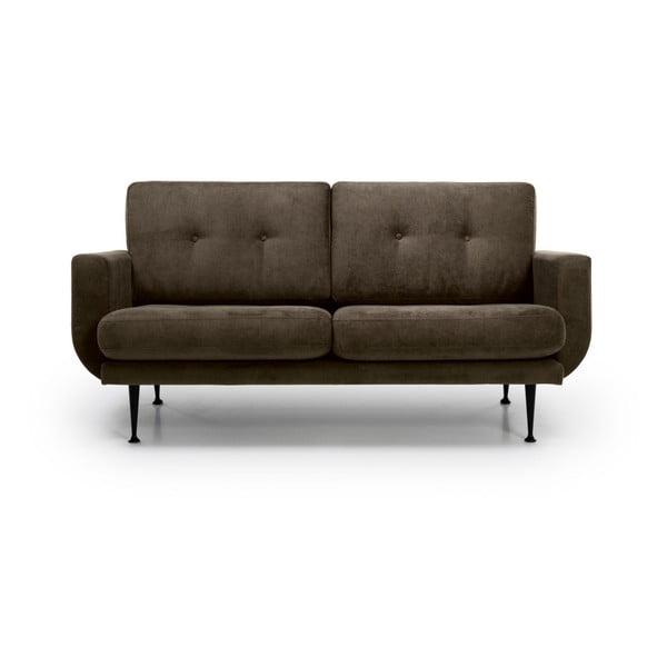 Canapea cu 2 locuri Softnord Fly, maro