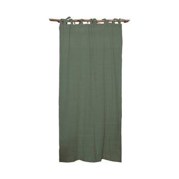 Draperie Linen Cuture Cortina Hogar Green, verde imagine