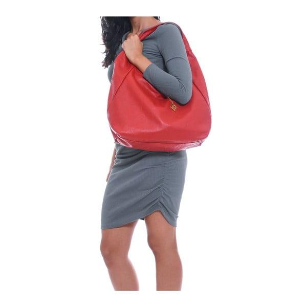 Kožená kabelka Isabella Rhea 2106 Rosso