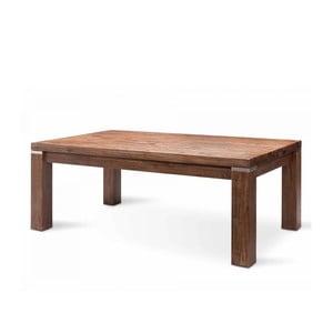 Tmavě hnědý konferenční stolek  z akáciového dřeva SOB Sydney