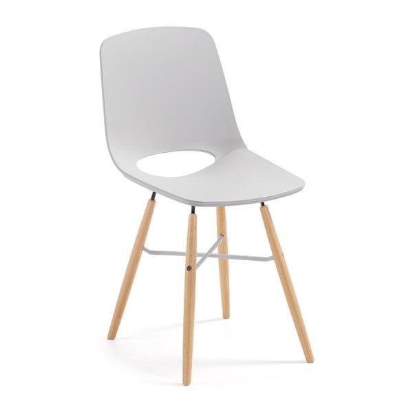 Sivá jedálenská stolička La Forma Kint