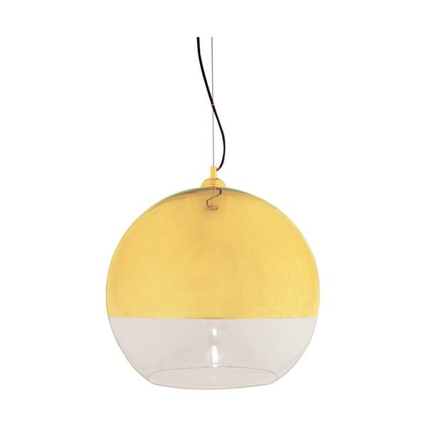 Závěsné svítidlo Scan Lamps Lux Gold, ⌀45 cm