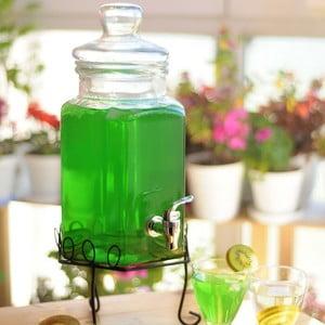 Skleněný barel na nápoje Sadabab