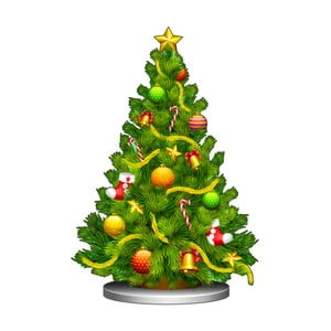 Vánoční samolepka Ambiance Christmas Tree