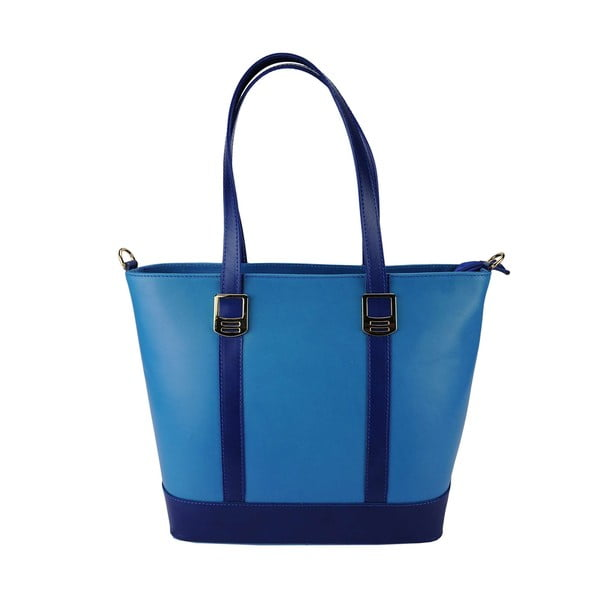 Kožená kabelka Luisa Blue