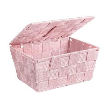 Coș cu capac Wenko Adria, roz imagine