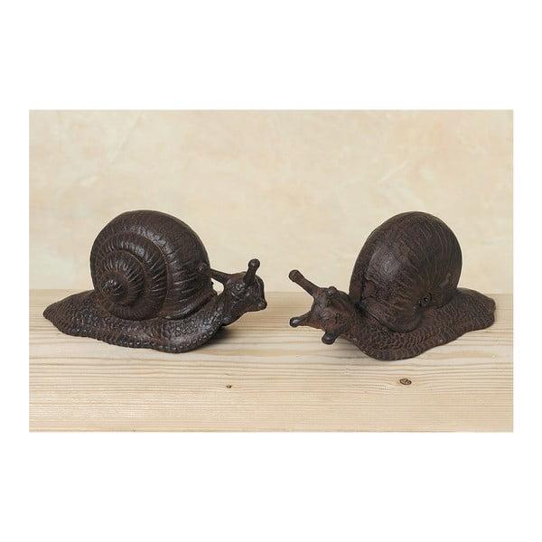 Sada 2 dekorativních šneků Snail