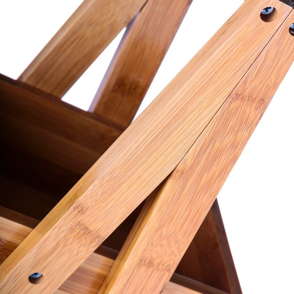 Suport din bambus cu trei etaje Unimassa Bamboo