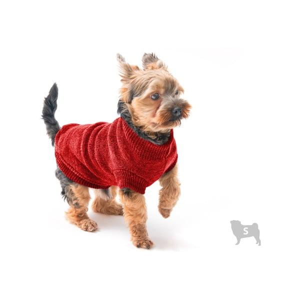 Pulover pentru câini Marendog Trip, mărime S, roșu