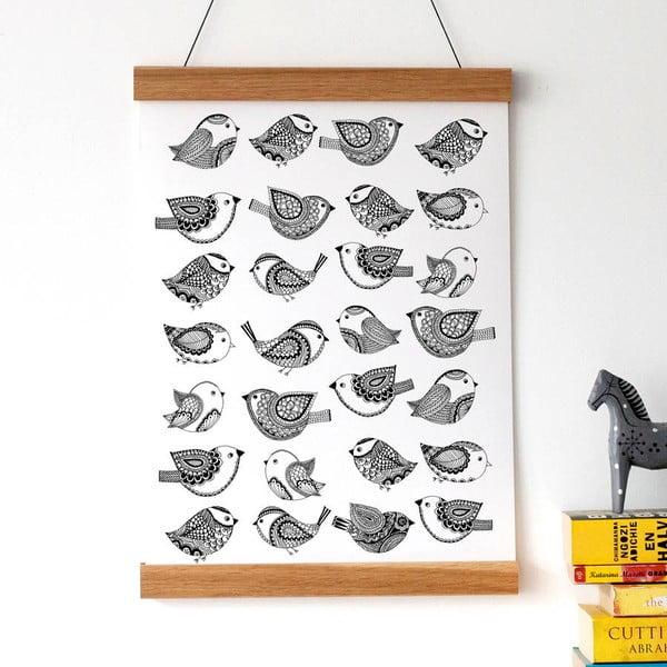 Plakát Karin Åkesson Design Bird Pattern, 30x40 cm