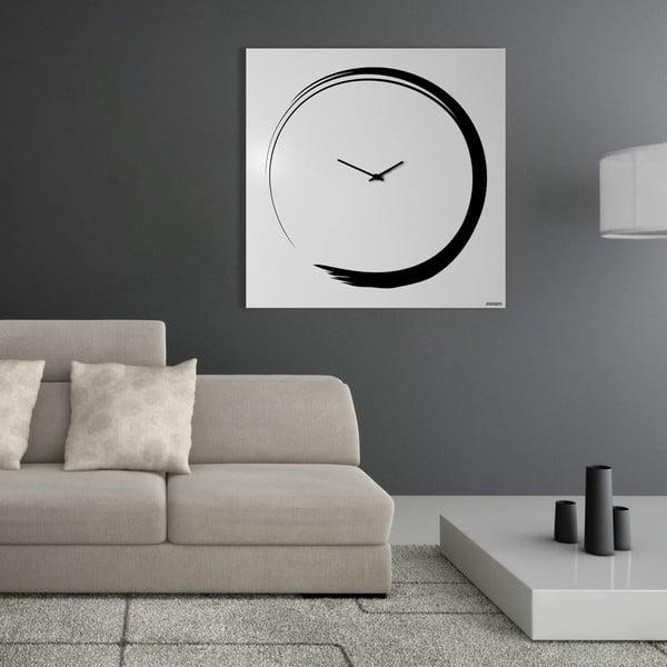 Nástěnné hodiny Senso Clock White, 80x80 cm