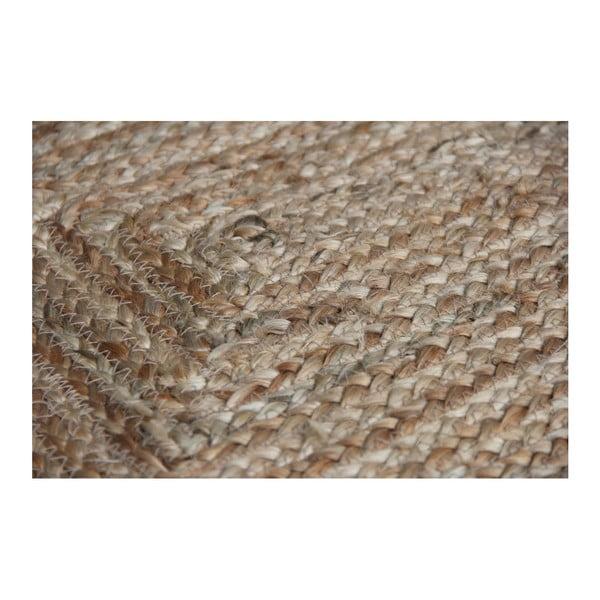Hnědý koberec Natural, 120x180cm
