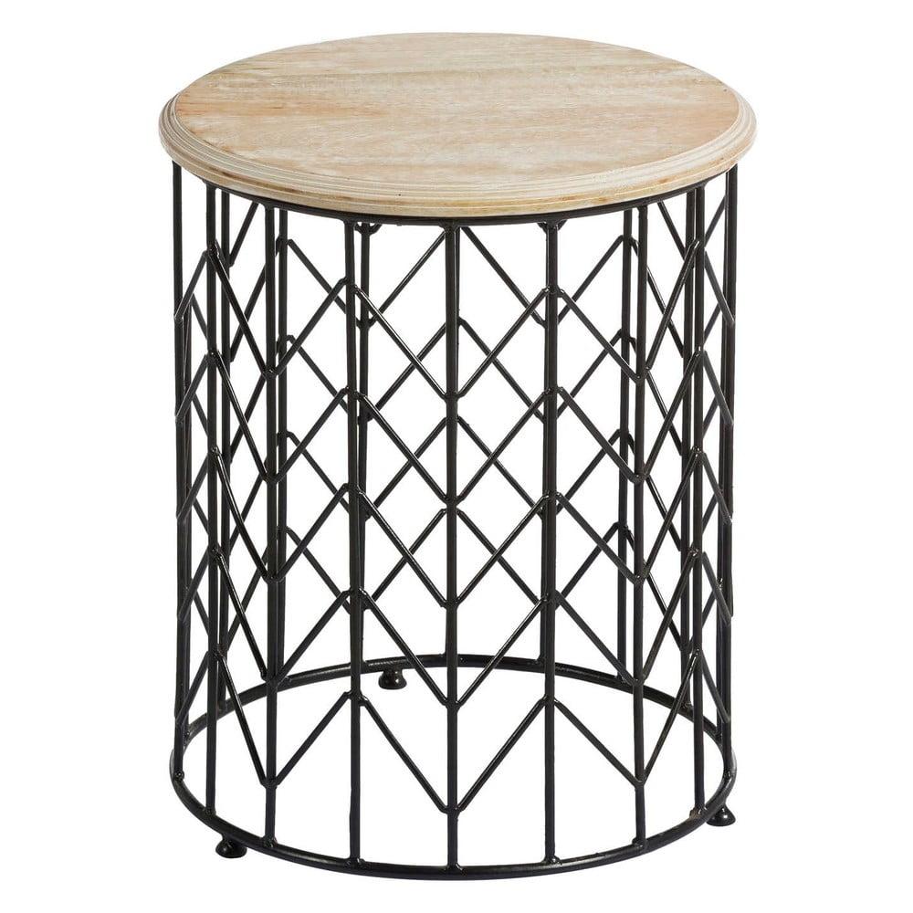 Odkládací stolek s deskou z mangového dřeva Tropicho