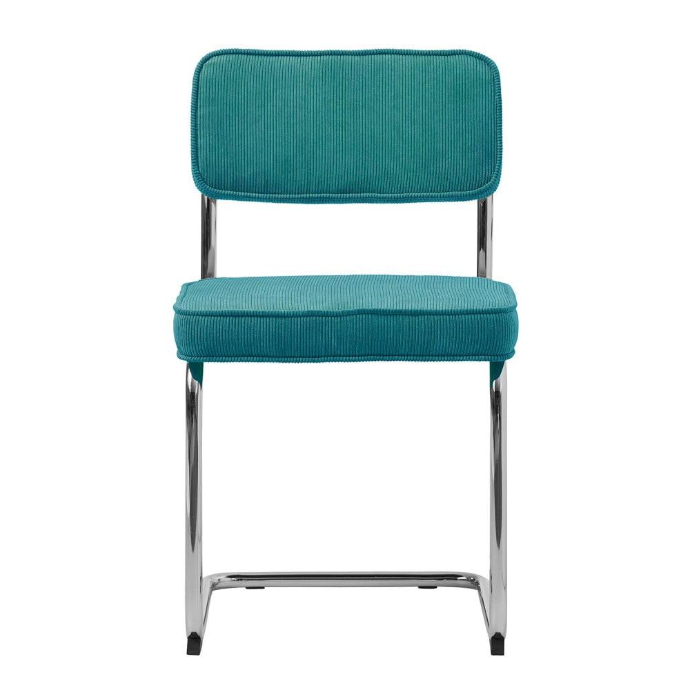 Modrá jídelní židle Unique Furniture Rupert Bauhaus