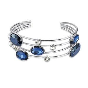 Náramek se Swarovski Elements Saint Francis Crystals Blau Deep 691d101100f