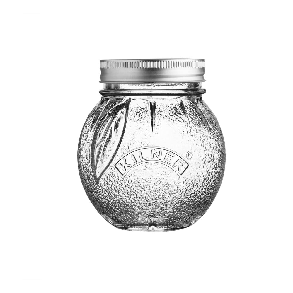 Skleněná zavařovací sklenice s víčkem Kilner Pomeranč, 0,4 l