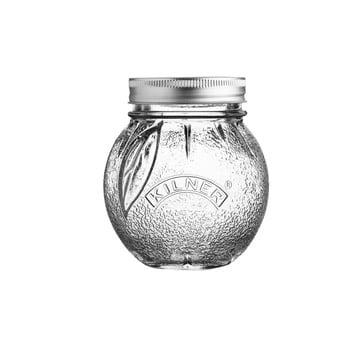 Borcan din sticlă cu capac Kilner Orange, 0,4 L imagine