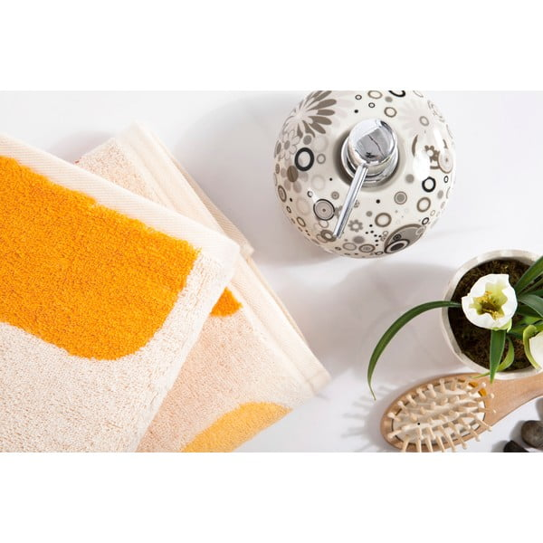 Sada 2 ručníků Alba Orange, 50x90 cm