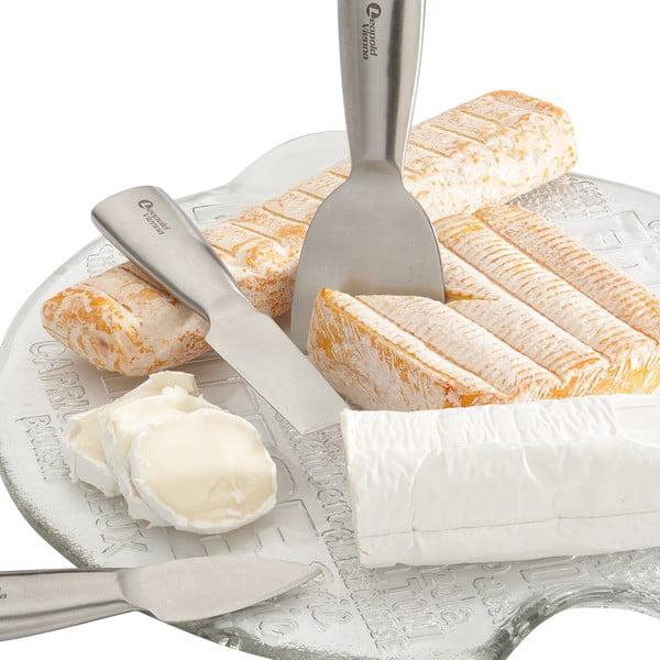 Sada 3 nožů na sýr