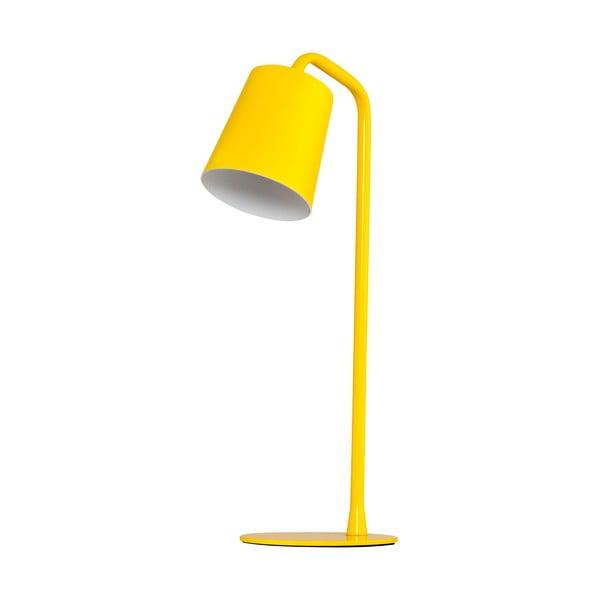 Stolní lampa Elias, žlutá