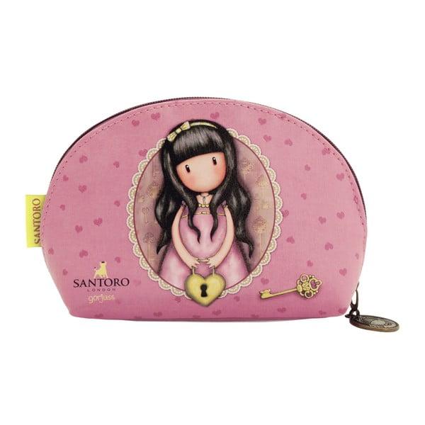 Růžová kosmetická taška Santoro London Secret
