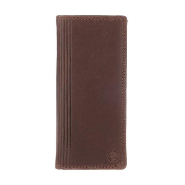 Kožená peněženka Hamilton Conker Brown