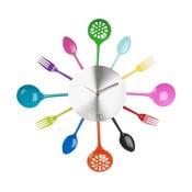 Kuchyňské hodiny, barevné