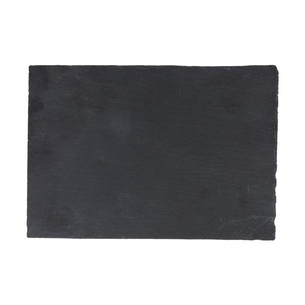 Břidlicový tác Sola Flow, 26x16cm
