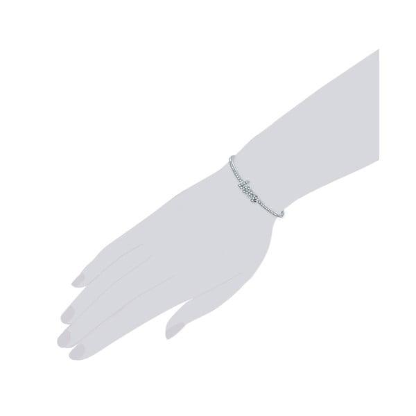 Náramek ve stříbrné barvě Lussandra  Safiris