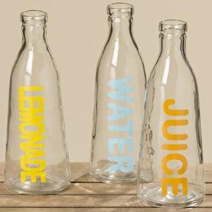 Sada 3 skleněných lahví Boltze Drink