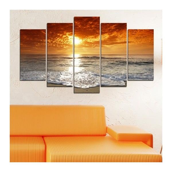 5dílný obraz Nad mořem