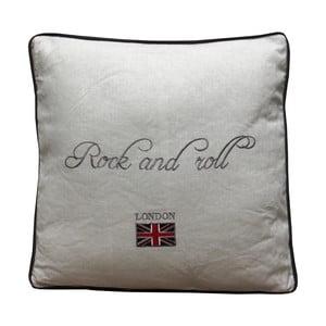 Polštář Rock & Roll, 40x40 cm