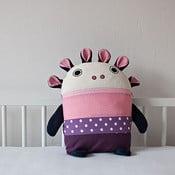 Pyžamožrout, fialový a růžový, velký