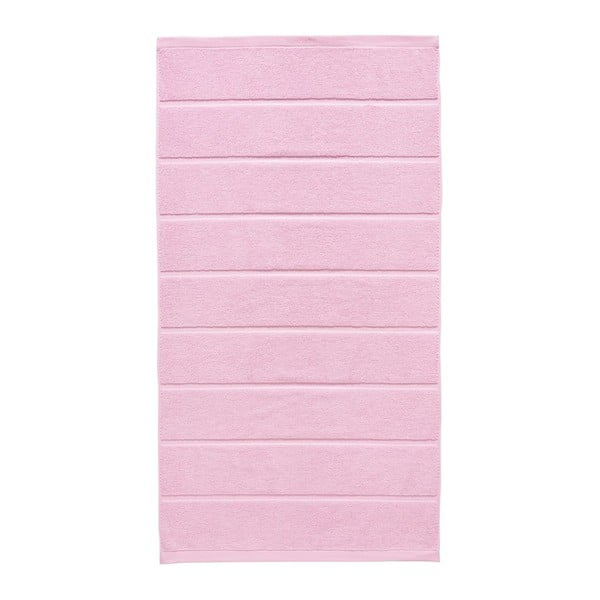 Růžový ručník Aquanova Adagio, 70x130cm